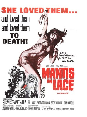 Mantis in Lace - Movie Poster (thumbnail)