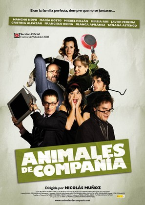 Animales de compañía - Spanish Movie Poster (thumbnail)