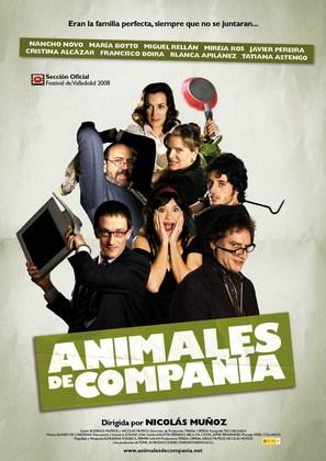 Animales de compañía - Spanish Movie Poster (thumbnail)