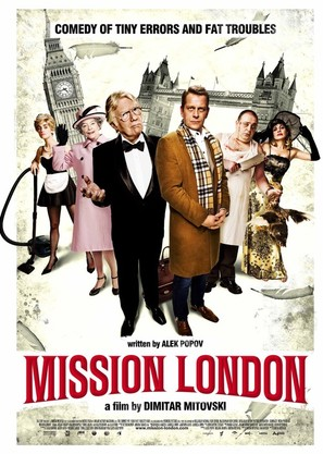 Mission London - Movie Poster (thumbnail)