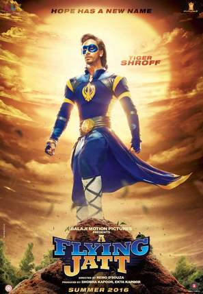 A Flying Jatt - Indian Movie Poster (thumbnail)