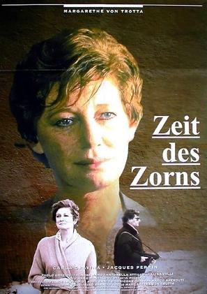 Il lungo silenzio - German Movie Poster (thumbnail)