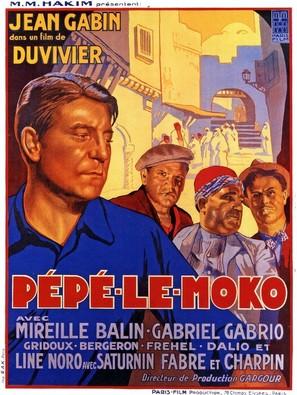 Pépé le Moko - French Movie Poster (thumbnail)