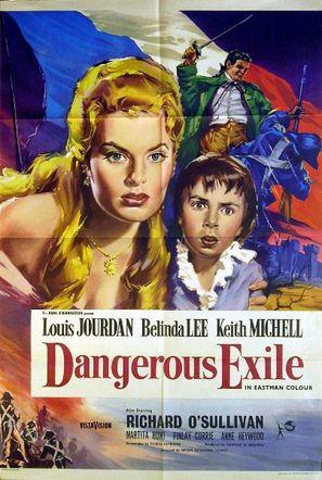 Dangerous Exile - British Movie Poster (thumbnail)