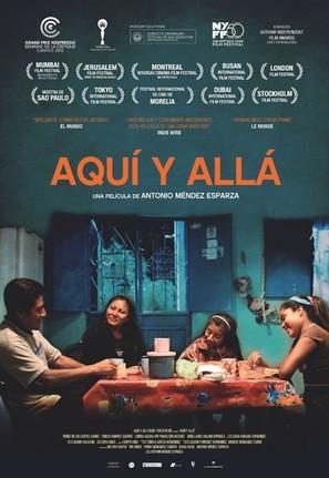 Aquí y allá - Spanish Movie Poster (thumbnail)