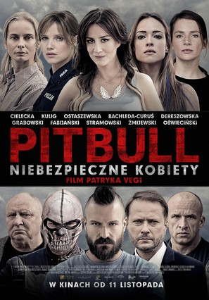 Pitbull. Niebezpieczne kobiety - Polish Movie Poster (thumbnail)