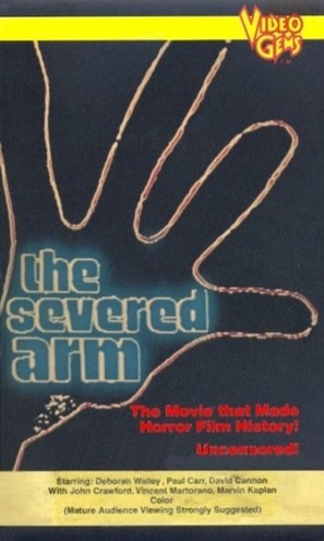 The Severed Arm - VHS cover (thumbnail)