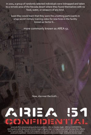 Area 51 Confidential - Movie Poster (thumbnail)