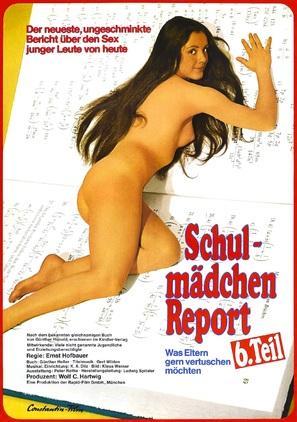 Schulmädchen-Report 6: Was Eltern gern vertuschen möchten - German Movie Poster (thumbnail)