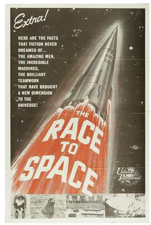 The Race for Space - Movie Poster (thumbnail)