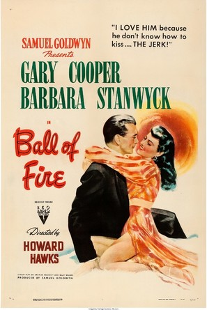 Ball of Fire - Movie Poster (thumbnail)