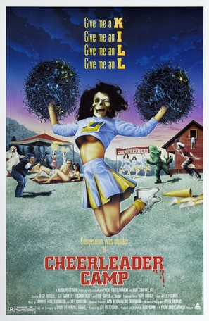 Cheerleader Camp - Movie Poster (thumbnail)
