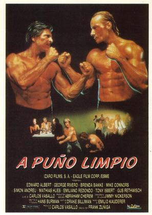 Fist Fighter - Spanish Movie Poster (thumbnail)