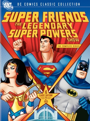 """SuperFriends: The Legendary Super Powers Show"" - DVD movie cover (thumbnail)"