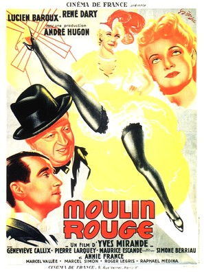 Moulin Rouge - French Movie Poster (thumbnail)