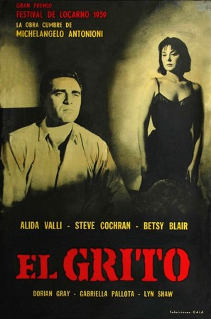 Grido, Il - Argentinian Movie Poster (thumbnail)