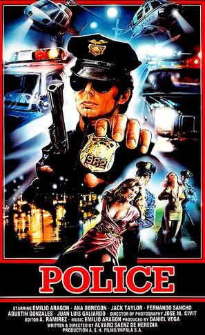 Policía - German VHS movie cover (thumbnail)