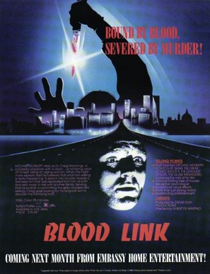 Blood Link - Movie Poster (thumbnail)