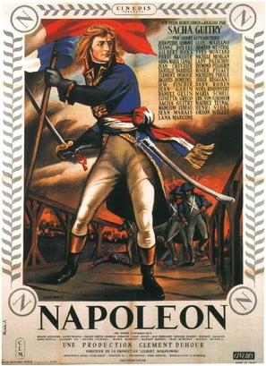 Napoléon - French Movie Poster (thumbnail)