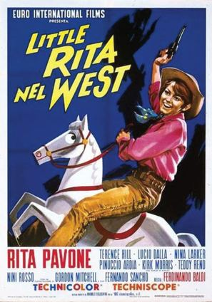 Little Rita nel West - Italian Movie Poster (thumbnail)