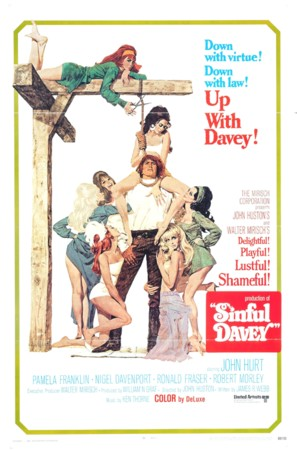 Sinful Davey - Movie Poster (thumbnail)