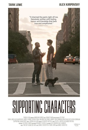 Supporting Characters - Movie Poster (thumbnail)
