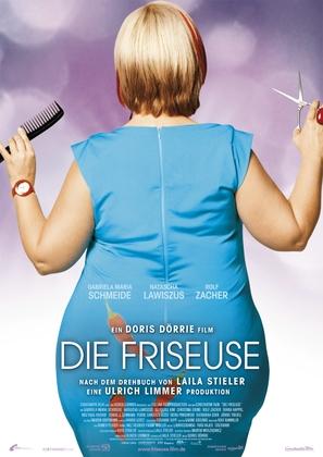 Die Friseuse - German Movie Poster (thumbnail)
