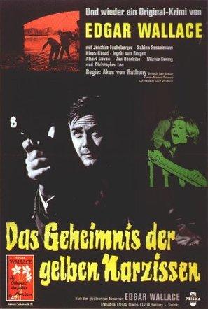Das Geheimnis der gelben Narzissen - German Movie Poster (thumbnail)