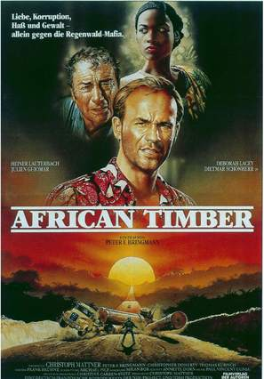African Timber - German Movie Poster (thumbnail)