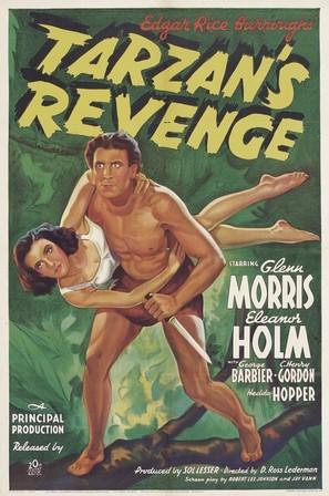 Tarzan's Revenge - Movie Poster (thumbnail)