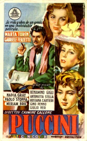 Puccini - Spanish Movie Poster (thumbnail)