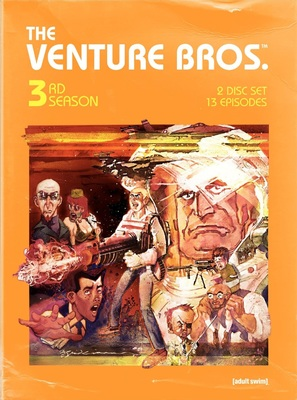 """The Venture Bros."" - DVD movie cover (thumbnail)"