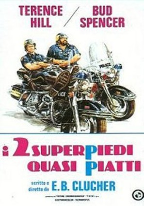I due superpiedi quasi piatti - Italian Movie Poster (thumbnail)