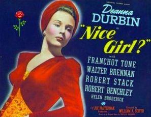 Nice Girl? - Movie Poster (thumbnail)