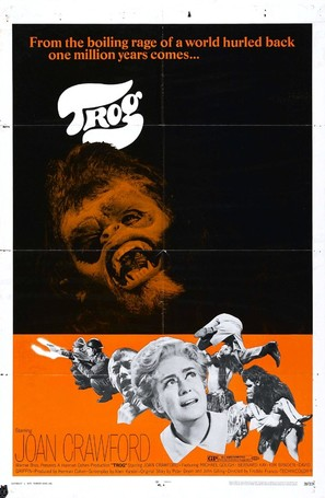 Trog - Theatrical movie poster (thumbnail)