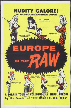 Europe in the Raw - Movie Poster (thumbnail)