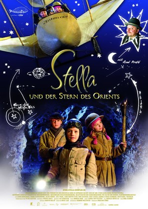Stella und der Stern des Orients - German Movie Poster (thumbnail)