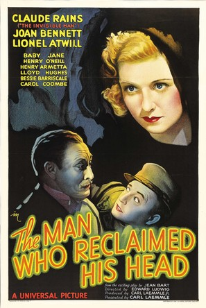 The Man Who Reclaimed His Head - Movie Poster (thumbnail)