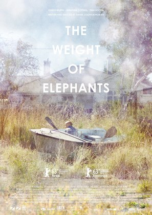 The Weight of Elephants - Danish Movie Poster (thumbnail)