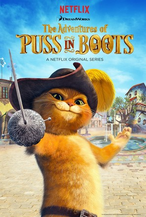 """The Adventures of Puss in Boots"" - Movie Poster (thumbnail)"