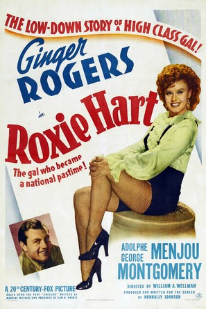 Roxie Hart - Theatrical movie poster (thumbnail)
