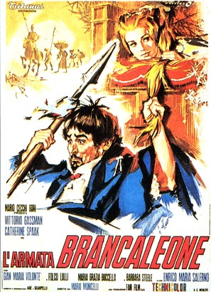 Armata Brancaleone, L' - Italian Movie Poster (thumbnail)