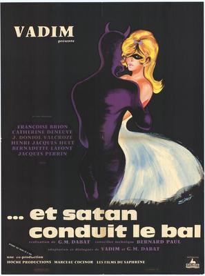 Et Satan conduit le bal - French Movie Poster (thumbnail)