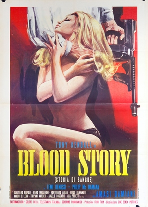Blood Story - Italian Movie Poster (thumbnail)