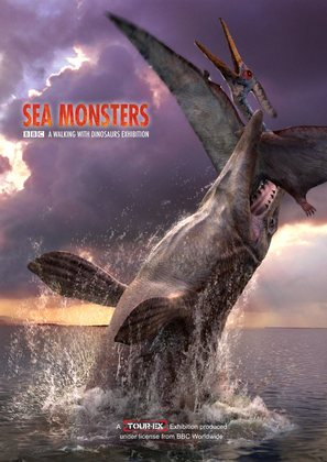 """""""Sea Monsters: A Walking with Dinosaurs Trilogy"""" - British Movie Poster (thumbnail)"""