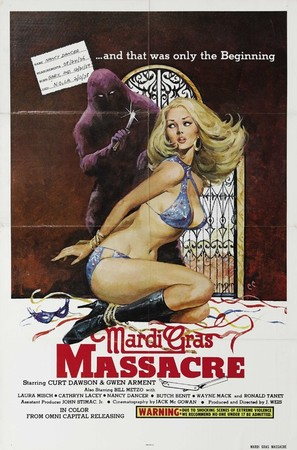 Mardi Gras Massacre - Movie Poster (thumbnail)