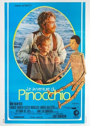 """""""Avventure di Pinocchio, Le"""" - Italian Movie Poster (thumbnail)"""