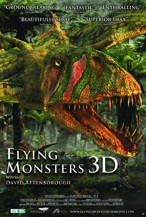Flying Monsters 3D with David Attenborough - British Movie Poster (thumbnail)