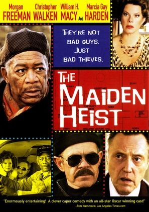 The Maiden Heist - DVD movie cover (thumbnail)