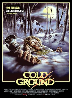 Cold Ground - French Movie Poster (thumbnail)